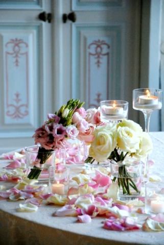 rose e lisyanthus